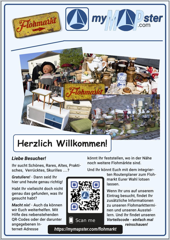 Flyer für Flohmarktveranstalter
